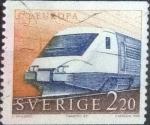 Stamps Europe - Sweden -  Scott#1700 , intercambio 0,65 usd , 2,20 krona , 1988