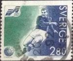 Stamps : Europe : Sweden :  Scott#1941 , intercambio 0,35 usd , 2,80 krona , 1992