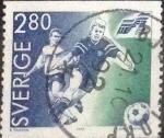 Stamps : Europe : Sweden :  Scott#1942 , intercambio 0,35 usd , 2,80 krona , 1992