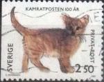 Stamps : Europe : Sweden :  Scott#1951 , intercambio 0,25 usd , 2,50 krona , 1992