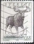 Stamps : Europe : Sweden :  Scott#1934 , intercambio 0,50 usd , 7 krona , 1992
