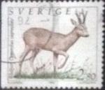 Stamps : Europe : Sweden :  Scott#1920 , intercambio 0,20 usd , 2,80 krona , 1992