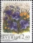 Stamps : Europe : Sweden :  Scott#2016 , intercambio 0,35 usd , 2,60 krona , 1993