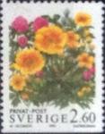 Stamps : Europe : Sweden :  Scott#2015 , intercambio 0,35 usd , 2,60 krona , 1993