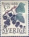Stamps : Europe : Sweden :  Scott#2001 , intercambio 0,60 usd , 3,35 krona , 1995