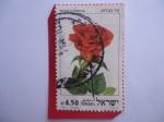 Sellos del Mundo : Asia : Israel : Rosa Hybrida - Rosas Israelíes.