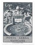 Sellos de Europa - Vaticano -  Plaza de San Pedro