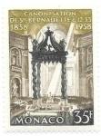 Sellos de Europa - Mónaco -  Lourdes