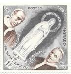 Sellos del Mundo : Europa : Mónaco : Lourdes