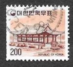 Stamps South Korea -  1099 - Templo Muryangsu