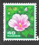 Sellos del Mundo : Asia : Corea_del_sur : 1256 - Rosa de Sharon