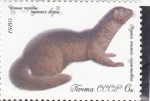 Stamps : Europe : Russia :  MUSTELIDO