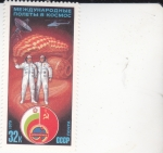 Stamps Europe - Russia -  ASTRONAUTAS