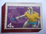 Sellos del Mundo : Europa : Rusia : URSS- Concurso Juvenil de Tenis de Mesa- Serie:Eventos Deportivos Internacionales - Unión Soviética-
