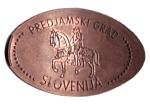 monedas del Mundo : Europa : Eslovenia :  PREDJAMSKI GRAD SLOVENIJA