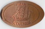 monedas de Europa - Eslovenia -  PIRAN