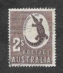 Sellos del Mundo : Oceania : Australia : 302 - Arte Aborigen