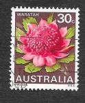 Sellos del Mundo : Oceania : Australia : 439 - Waratah