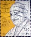 Stamps : Europe : Croatia :  Scott#xxxx , intercambio 2,80 usd. , 7,60 kuna , 2014