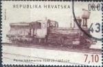 sellos de Europa - Croacia -  Scott#850b , intercambio 2,50 usd. , 7,10 kuna , 2012