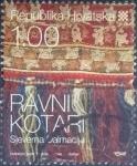 Sellos del Mundo : Europa : Croacia : Scott#703 , intercambo 0,50 usd. , 1,00 kuna , 2008