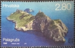 Sellos de Europa - Croacia -  Scott#xxxx , dm1g2 intercambo 0,90 usd. , 2,80 kuna , 2014