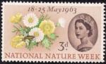 Stamps United Kingdom -  Semana national de la naturaleza