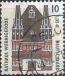 Sellos de Europa - Alemania -  Scott#1838 , intercambo 0,20 usd. , 10 cents. , 2000