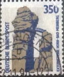 Sellos de Europa - Alemania -  Scott#1537 , intercambio 0,30 usd. , 350 cents. , 1989