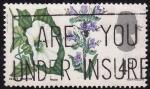 Stamps United Kingdom -  Flores