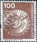 Stamps Germany -  Scott#1179 , intercambio 0,20 usd. , 100 cents. , 1975
