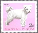 Sellos del Mundo : Europa : Hungría : Perros-Pumi (Canis lupus familiaris).
