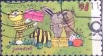 Stamps Germany -  Scott#xxxx , nf4b intercambio 0,80 usd. , 58 cents. , 2013