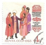 Stamps Europe - Russia -  trajes regionales