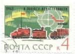 Sellos de Europa - Rusia -  Antartida