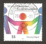 Stamps : Europe : Germany :  2160 - 50 Anivº de la Asociación alemana para la protección infantil