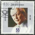 Stamps : Europe : Germany :  2220 - Kurt Georg Klesinger, político
