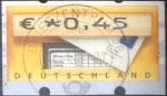 Sellos de Europa - Alemania -  Scott#ATM , intercambio 0,20 usd. , 0,45 € , 2006