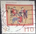sellos de Europa - Alemania -  Scott#2046 , intercambio 0,70 usd. , 110 cents. , 1999