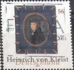 Sellos de Europa - Alemania -  Scott#2179 , intercambio 1,00 usd. , 56 cents. , 2002