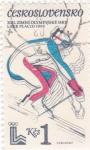 Stamps : Europe : Czechoslovakia :  OLIMPIADA LAKE PLACE´80