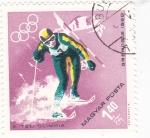 Stamps : Europe : Hungary :  OLIMPIADA DE GRENOBLE´68