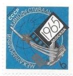 Sellos de Europa - Rusia -  aniversarios