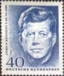 de Europa - Alemania -  Scott#901 , intercambio 0,30  usd. , 40 cents. , 1964