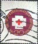 de Europa - Alemania -  Scott#865 , intercambio 0,20  usd. , 20 cents. , 1963