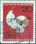 de Europa - Alemania -  Scott#899 , intercambio 0,20  usd. , 20 cents. , 1964