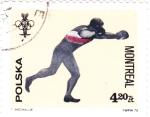 Stamps Poland -  OLIMPIADA MONTREAL'76