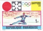 sello : Asia : Rwanda : OLIMPIADA SAPPORO'72