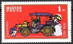 Stamps Europe - Hungary -  AUTOMÓVIL  BENZ  1901