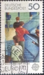 Stamps Europe - Germany -  Scott#1165 , intercambio 0,20 usd. , 50 cents. , 1975